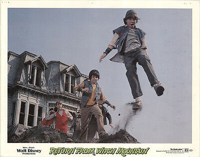 Return from Witch Mountain 1978 Original Movie Poster Adventure Family Sci-Fi