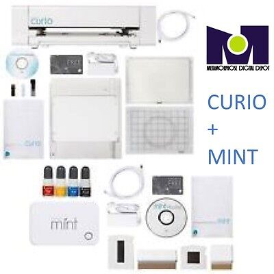 Silhouette CURIO Digital Crafting Machine and MINT Custom Stamp Maker