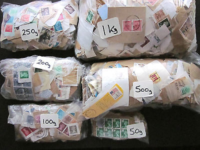 Used Gb Charity Mix Kiloware Mostly Definitives & Mainly Pre 1990.