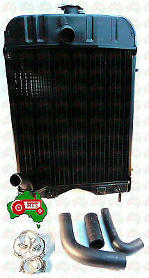 Radiator Massey Ferguson TE20 TEA20 TED20 Petrol Tractor With HOSE KIT & CLAMPS