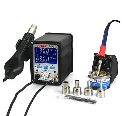 2 IN 1 YIHUA 995D Soldering Station Used For Motherboard Repair Tools 210V-240v