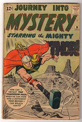 Marvel Comics 3.0 GVG THOR #86 Journey into mystery 1ST ODIN EVER APPEARANCE