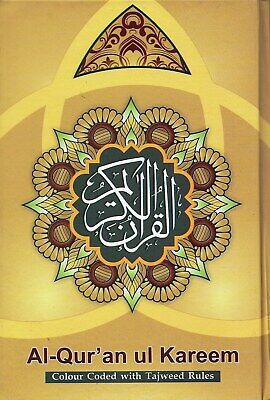 Quran Arabic with Colour Coded Tajweed Rules -A5 Size (Ramadhan Special Offer)