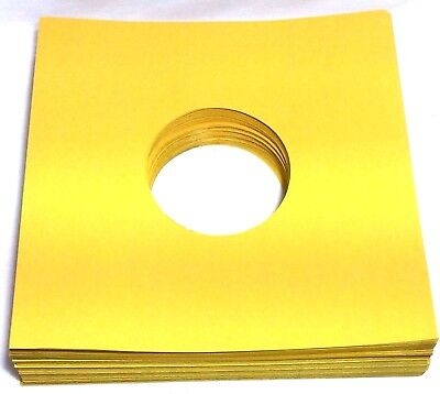 """(50) 78rpm Record Sleeves Golden Brown Paper Acid-Free 28lb. Stock 10"""" 78 rpm"""
