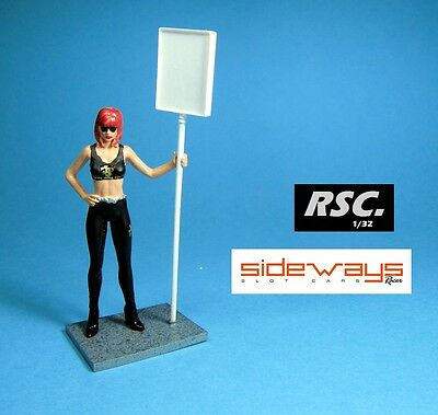 Grid Girl Beatrice Jps - Pit Babe Racer Sideways 1:32 Figure Detail Scalextric