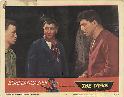 The Train 1965 Original Movie Poster Action Thriller War