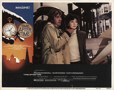 Time After Time 1979 Original Movie Poster Adventure Drama Romance
