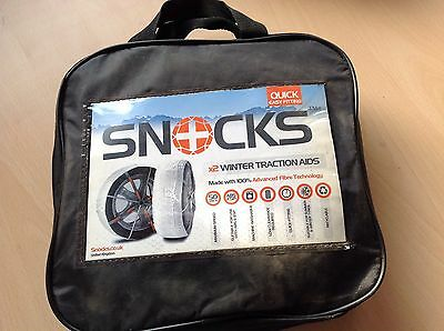 Genuine New Snocks SNOW SOCKS High Performance Winter Traction Aid, KA70, 13-15""