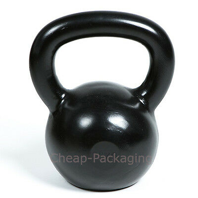 Black Painted Kettlebell Fitness Weight Gym Training Fitness