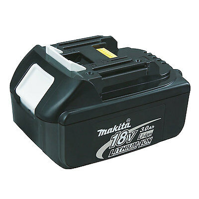 18 Volt 3.0 Ah LXT Lithium-Ion Battery Pack Genuine Makita BL1830 New