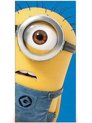 GIOCATTOLI Despicable Me Single Minion Beach Towel
