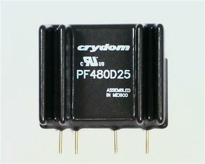CRYDOM PF480D25 Solid State Relay 480V 25A Zero Voltage Switching 4-15V DC Input