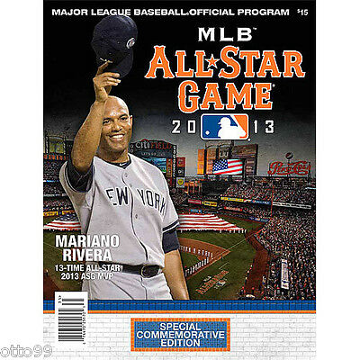 a522acf421985f Mariano Rivera All Star Game Mvp Special Citifield Ny Mets Scorecard Yankees  Mvp