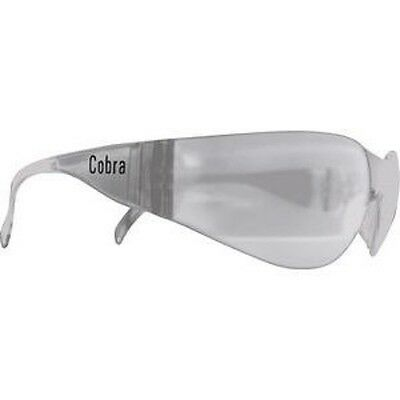 Sga Cobra  Safety Glasses Clear Lens  6 Pairs
