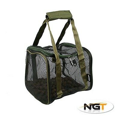 NGT Square Large Air Dry Boilie Bag with Hook Bait Pouch Carp Coarse Fishing 812
