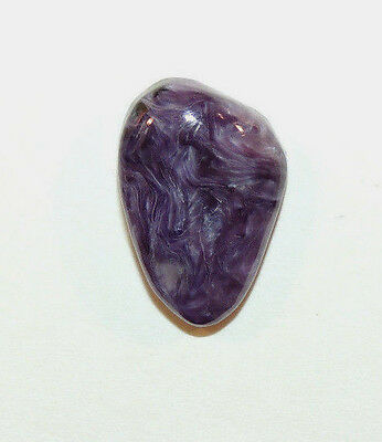 Charoite Free Form Cabochon 20x13mm with 6mm dome from Russia (9538)