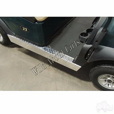 Golf Cart Diamond Plate Rocker Panels for Club Car Precedent