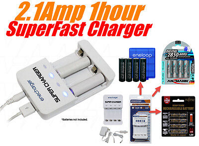 enecharger NC42000USB Super Fast NiMH Battery Charger / eneloop pro AA & More