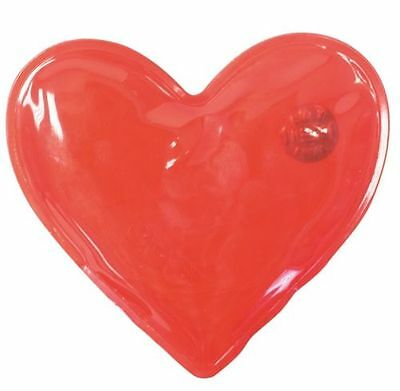 Reusable Gel Hand Warmers. Red Heart Shaped Large Handwarmers Hot Pods