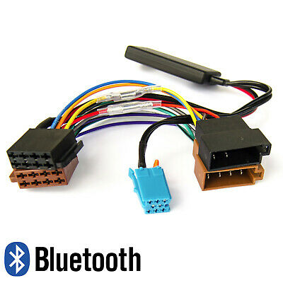SMART Fortwo 450 Bluetooth MP3 Stream Adapter Aux-In Autoradio