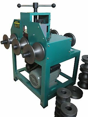 "Electric Pipe Tube Bender with 9 round and 8 square die set (5/8"" - 3"") W-G76"