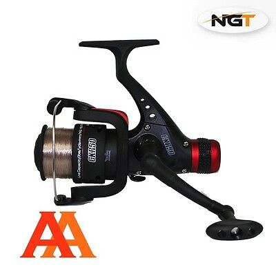 New NGT CKR50 Rear Drag fixed Spool Reel with 8lb Line for Feeder Match Fishing