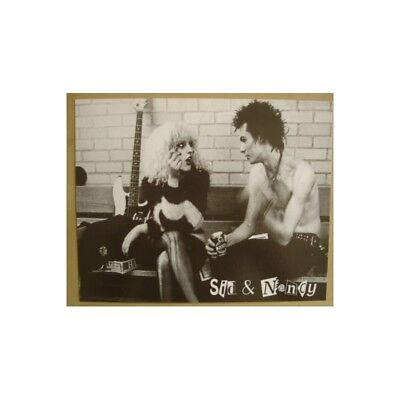 Carte postale Sex Pistols - Sid & Nancy (grand format)