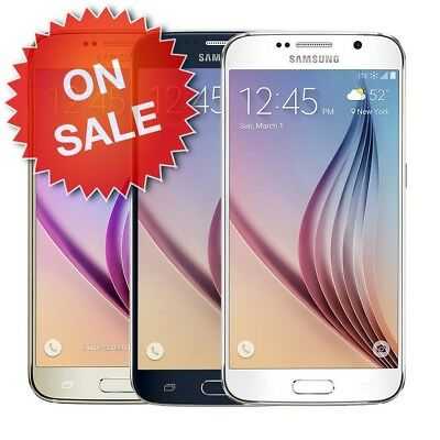 Samsung Galaxy S6 (Factory Unlocked) AT&T T-Mobile Verizon Sprint ($20 OFF)