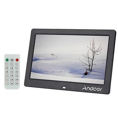 "10""inch HD 800*600 Digital Photo Frame Picture Mult-Media Player Christmas D5TF"