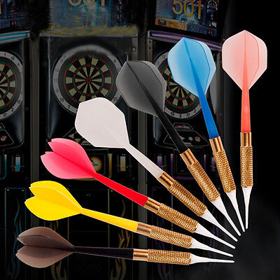 New Arrival 7pcs/Set Commercial Colorful Soft Tip Bar Darts with Dart Flights
