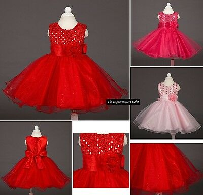 Vestito Cerimonia Feste Natale Bambina Party Girl Christmas Dress CDR013
