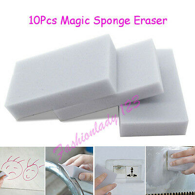 10X Melamine Foam Magic Sponge Eraser Multi-functional Home Cleaning Cleaner Pad