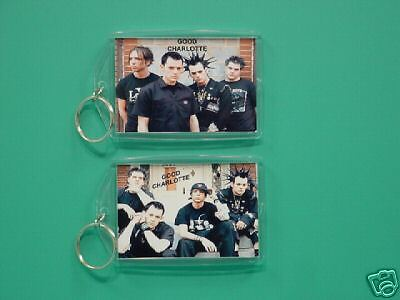 GOOD CHARLOTTE - with 2 Photos - Designer Collectible GIFT Keychain