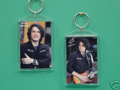 JOHN MAYER - with 2 Photos - Designer Collectible GIFT Keychain 01