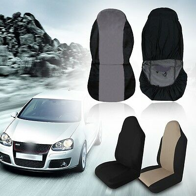 New Universal Car Front Rear Seat Covers Cushion Pad for Crossovers SUV Sedan