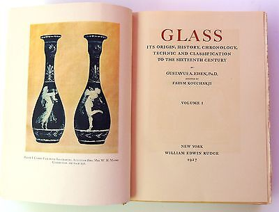 Ancient Glass by Gustavus Eisen Two Volume Limited Edition.1927