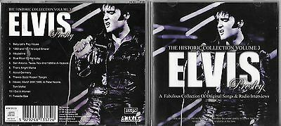 @ Elvis Presley - The Historic Collection Vol 3 Cd