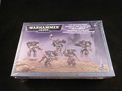 40K Space Marine Blood Angels Death Company Sealed Boxed Set