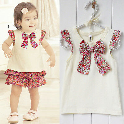 Beautiful Baby Girls Dress Outfit NEW Cream and Red 6-24months Party Wedding