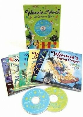Winnie the Witch 6 Stories to Share & 2 CDs von Valerie Thomas; Korky Paul NEU