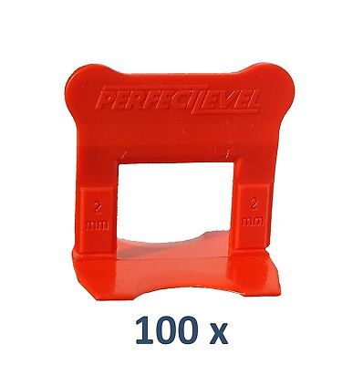 Nivellement Carrelage 100 Clips 2 Mm Perfectlevel Pro