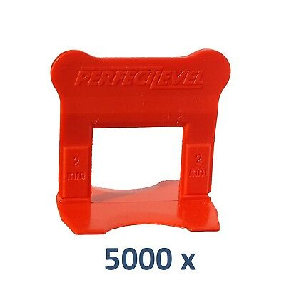 Nivellement Carrelage 5000 Clips 2 Mm Perfectlevel Pro