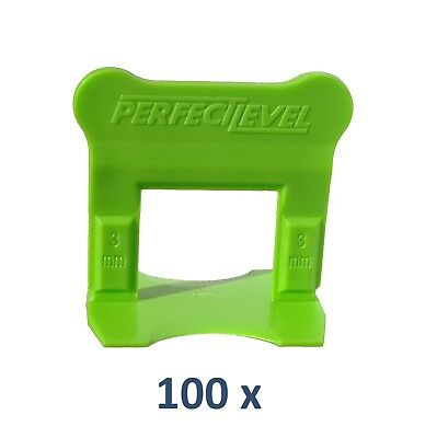 Nivellement Carrelage 100 Clips 3 Mm Perfectlevel Pro