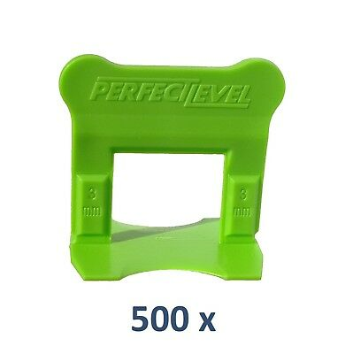 Nivellement Carrelage 500 Clips 3 Mm Perfectlevel Pro