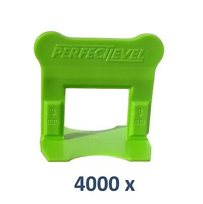 Nivellement Carrelage 4000 Clips 3 Mm Perfectlevel Pro