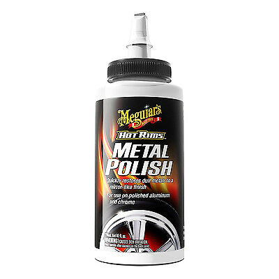 Meguiar's Hot Rims METAL POLISH Use on Polished Aluminum Chrome Stainless Steel