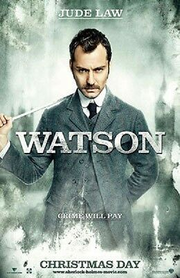 Sherlock Holmes (Watson) Double Sided Original Movie Poster 27x40 inches