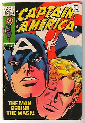 MARVEL Comics FN 6.0  issue Avengers 114  Captain america 1969