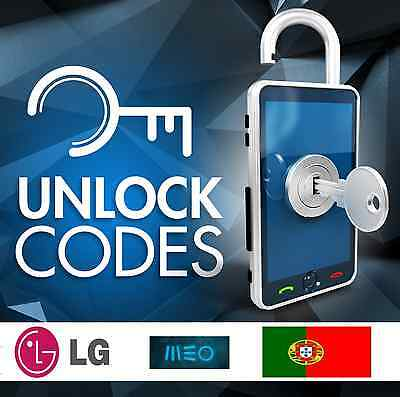 UNLOCK LG FLEX MEO G3 G4 PORTUGAL-all LG models supported-NO IPHONE-FAST SERVICE