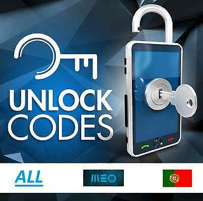 UNLOCK MEO A12 A30 A40 A60 A66 A70  PORTUGAL - ALL MODELS fast service